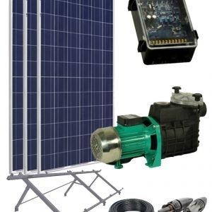 Kit Solar Depuradora Piscina
